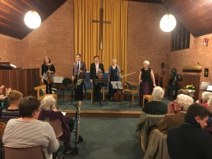 A wonderful performance of Weber's Quintet for String and Clarinet by Margaret and her friends